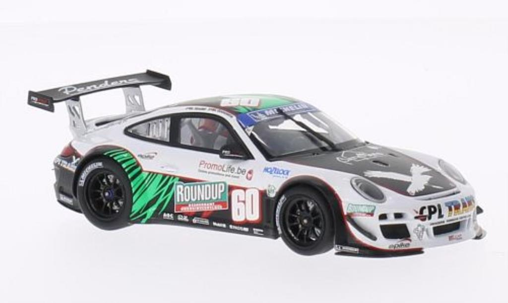 Porsche 997 GT3 1/43 Minichamps R No. 60 Prospeed Competition Belcar 2011 /Soulet diecast model cars