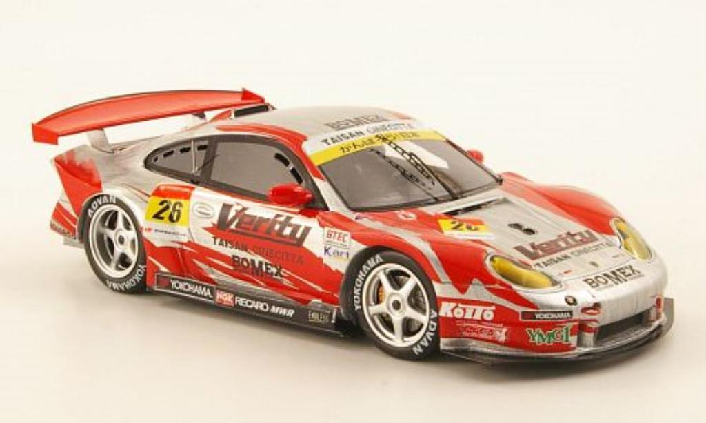 Porsche 997 GT3 1/43 Ebbro R Verity No.26 Taisan Cinecitta Super 00 2011 miniature