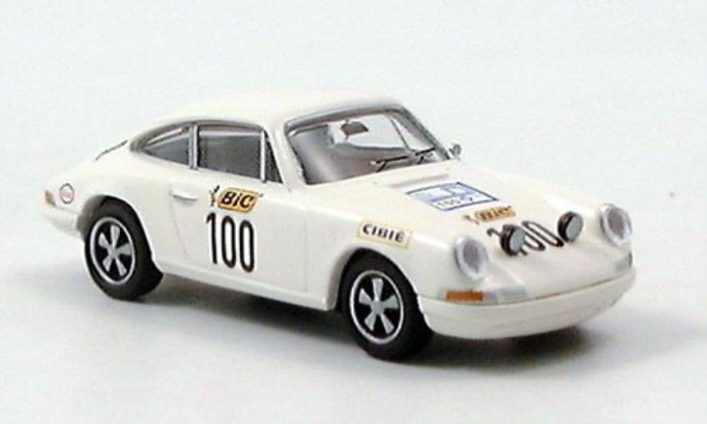 Porsche 911 1/87 Brekina No.100 Tour de France 1971 modellino in miniatura