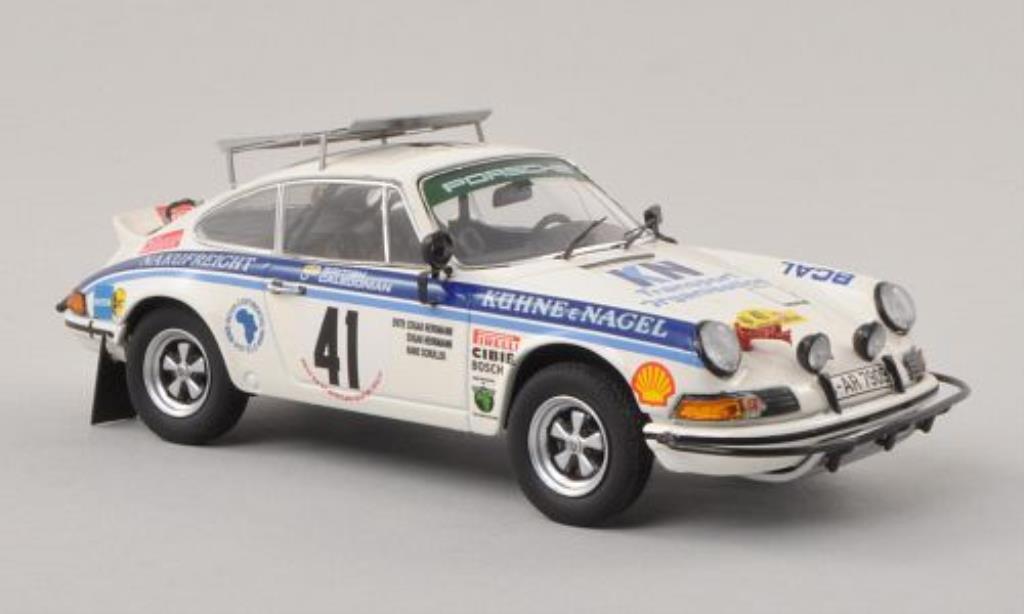 Porsche 930 RS 1/43 Schuco No.41 Kuhne & Nagel Safari Rally 1974 /H.Schuller miniature