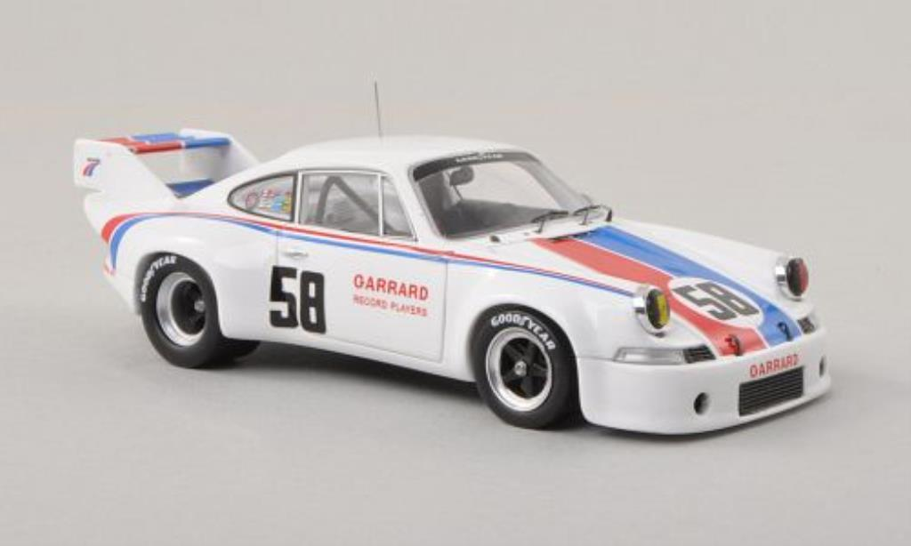 Porsche 911 RSR 1/43 Spark 2.8 No.58 Can-Am 1973 /M.Donohue miniature