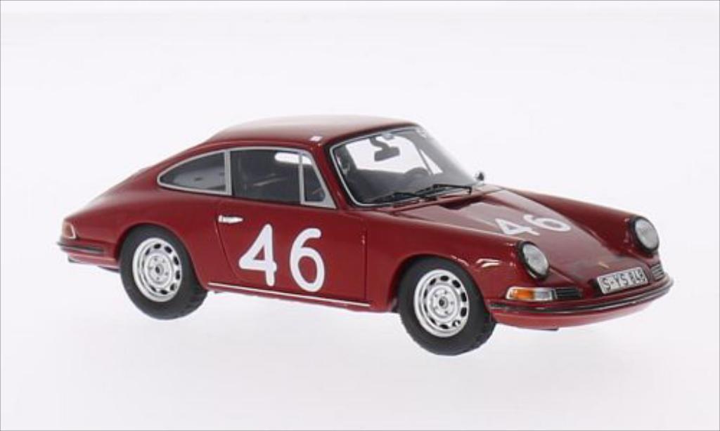 Porsche 911 S 1/43 Spark No.46 Targa Florio 1967 miniature