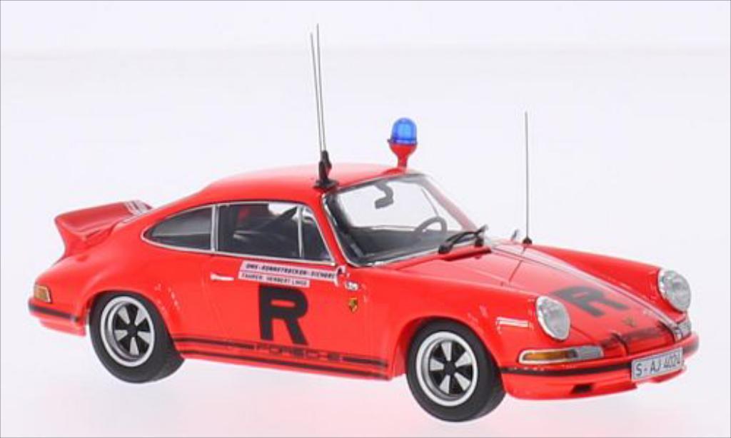 Porsche 930 S 1/43 Minichamps ONS Rennstrckensicherung 1974 miniature