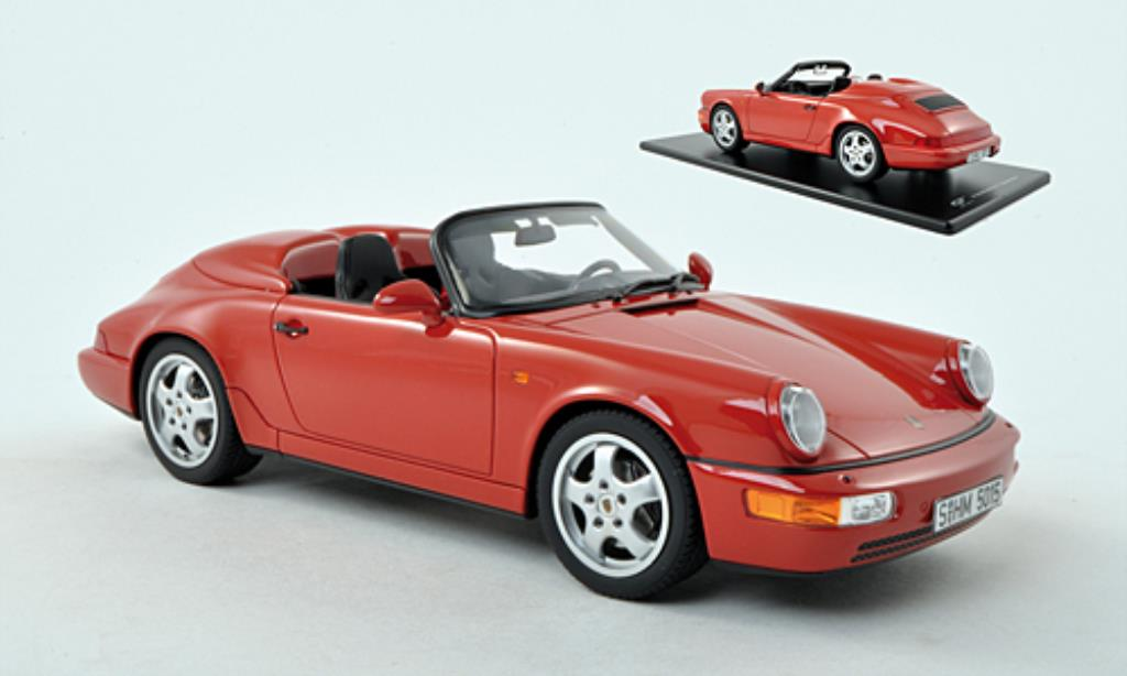 porsche 911 speedster 964 rot mcw modellauto 1 18 kaufen verkauf modellauto online. Black Bedroom Furniture Sets. Home Design Ideas