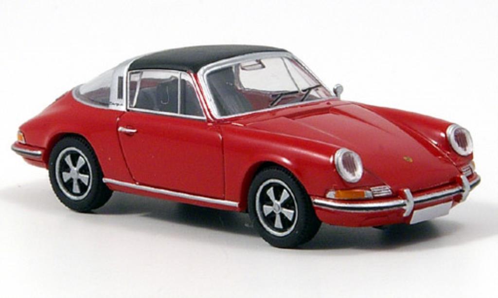 Porsche 911 1/87 Brekina T Targa rouge TD-Edition miniature