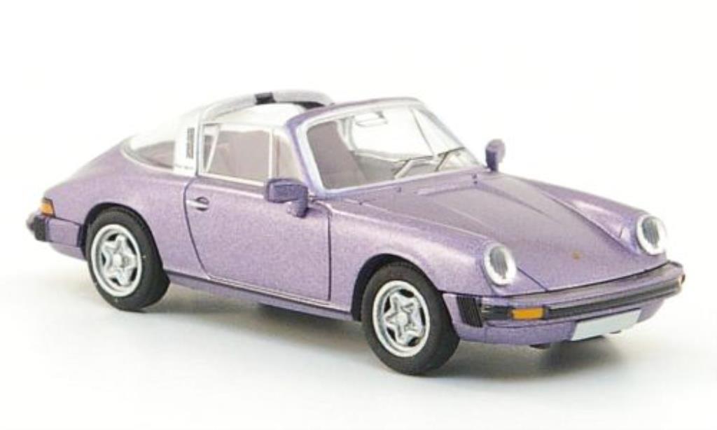 Porsche 911 Targa 1/87 Brekina (G-Reihe) flieder