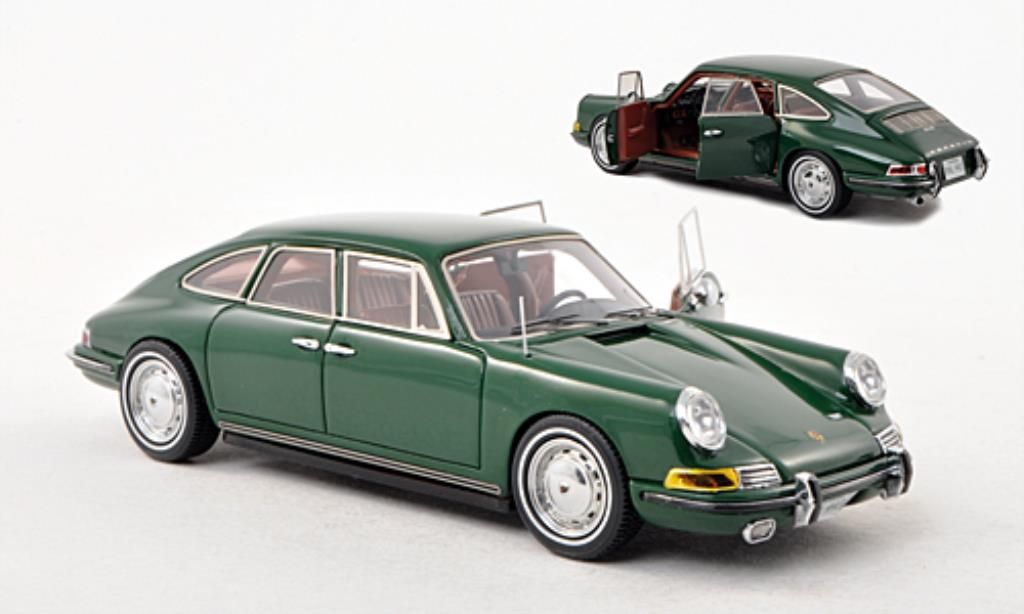 Porsche 911 1/43 Matrix Troutman & Barnes 4-Door Sedan green 1967 diecast