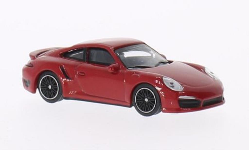 Porsche 991 Turbo 1/64 Schuco red diecast model cars
