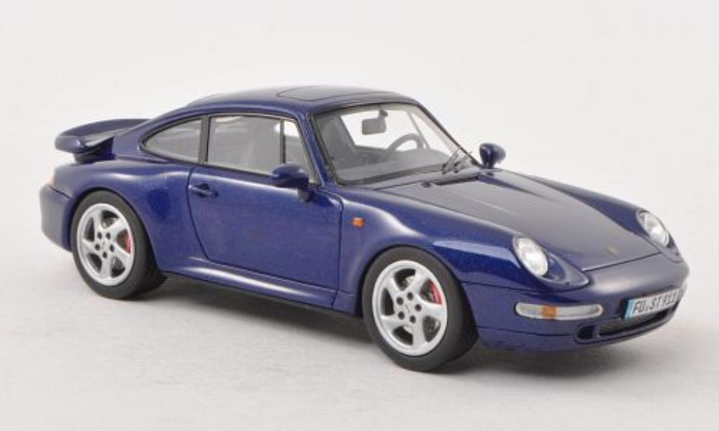 porsche 993 turbo blue mcw diecast model car 1 43 buy sell diecast car on. Black Bedroom Furniture Sets. Home Design Ideas