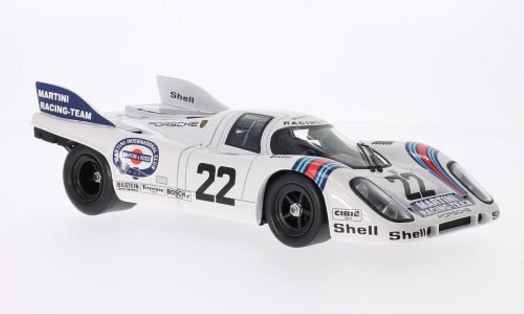 Porsche 917 K 1/18 Norev No.22 Martini Racing-Team Martini 24h Le Mans 1971 /G.van miniature
