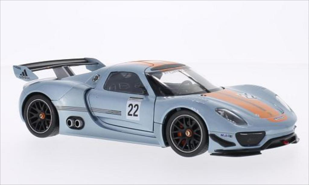Porsche 918 1/24 Welly R No.22 Motorsport /M.Lieb miniature
