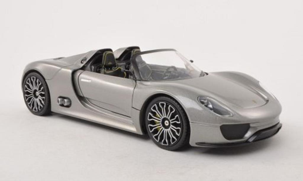 porsche 918 spyder gray welly diecast model car 1 24 buy sell diecast car on. Black Bedroom Furniture Sets. Home Design Ideas