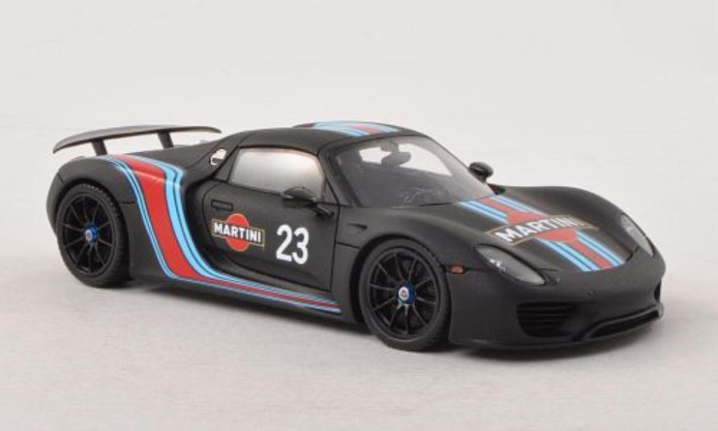 Porsche 918 1/43 Spark Spyder Prougeotyp No.23 Martini 2013 miniature