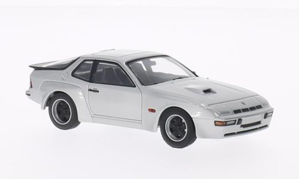 Porsche 924 1/43 Minichamps Carrera GT grise 1981 miniature