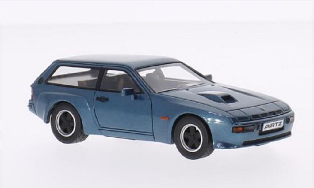 porsche 924 turbo kombi artz metallic blue 1981 mcw diecast model car 1 43 buy sell diecast. Black Bedroom Furniture Sets. Home Design Ideas