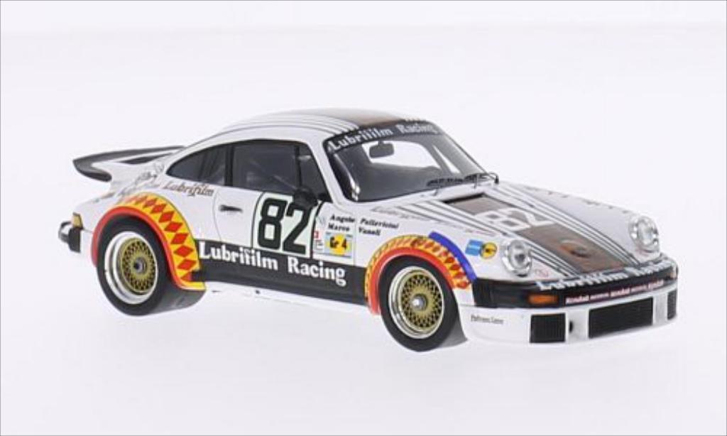 Porsche 934 1/43 Spark No.82 Lubrifilm Racing Lubrifilm 24h Le Mans 1979 /M.Vanoli miniature