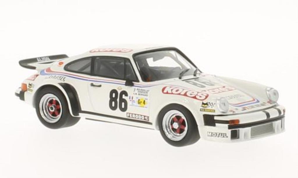 Porsche 934 1/43 Minichamps No.86 Kores 24h Le Mans 1979 /Bernard miniature