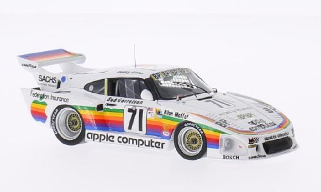 Porsche 935 1/43 Spark K3 No.71 Apple Computer 24h Le Mans 1980 /B.Garretson miniature