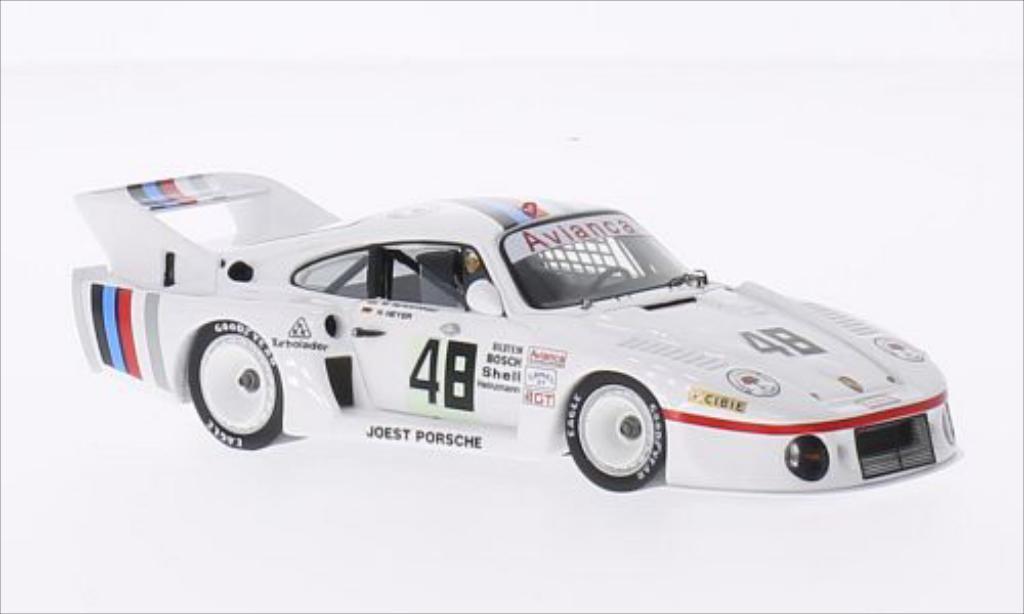 Porsche 935 1/43 Spark No.48 Joest Porsche 12h Sebring 1984 miniature