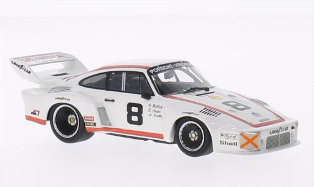 Porsche 935 1/43 Minichamps No.8 Porsche Kremer 24h Daytona 1977 /A.Krebs miniature
