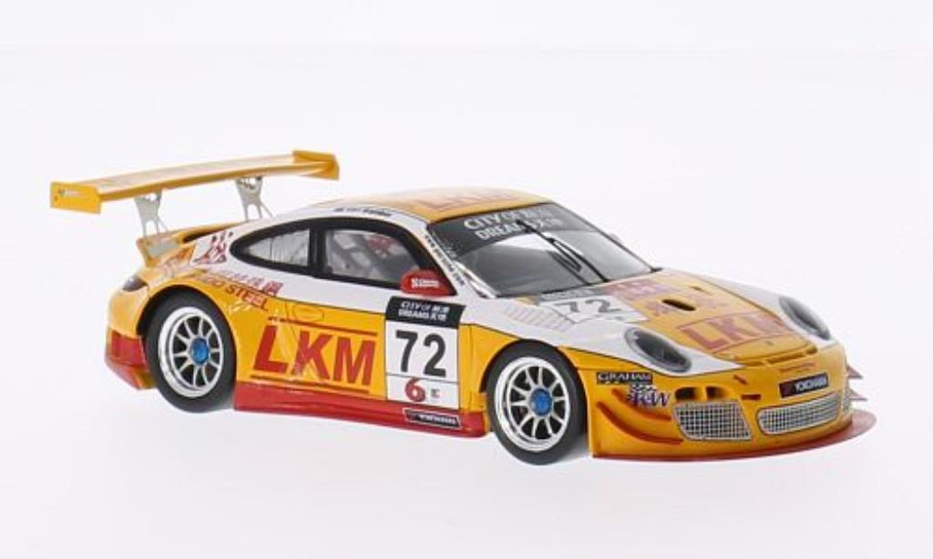 Porsche 997 GT3 1/43 Spark R No.72 City of Dreams Macau GT Cup 2013 diecast model cars
