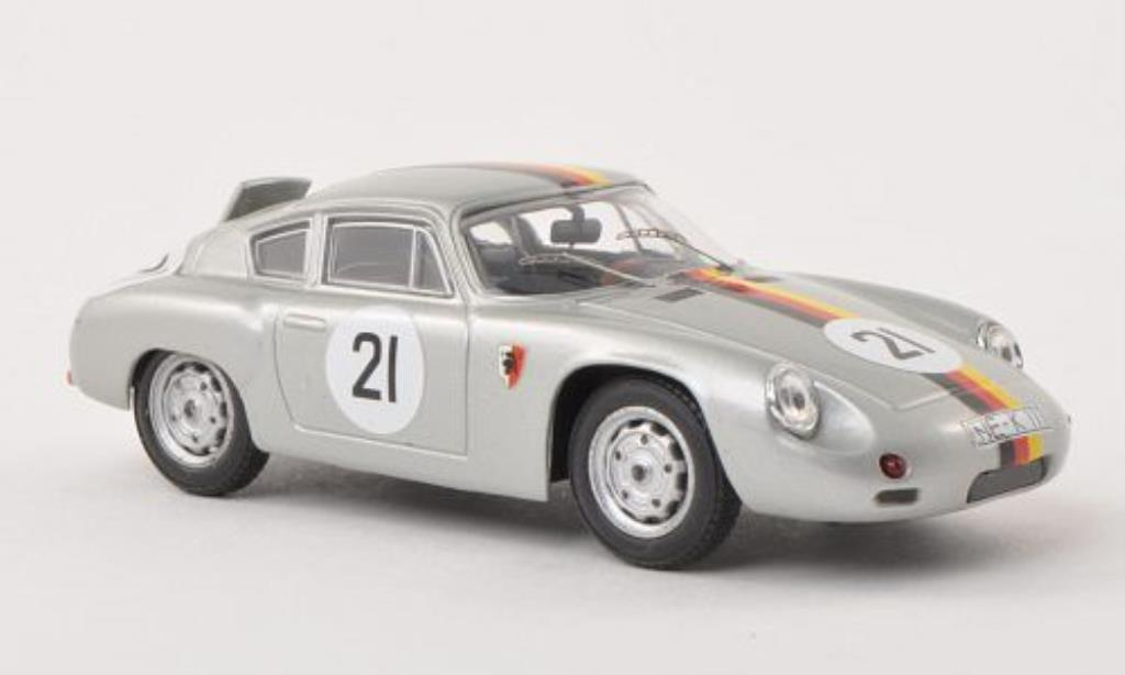 Porsche Abarth 1/43 Best No.21 1000km Paris 1962 /Koch coche miniatura