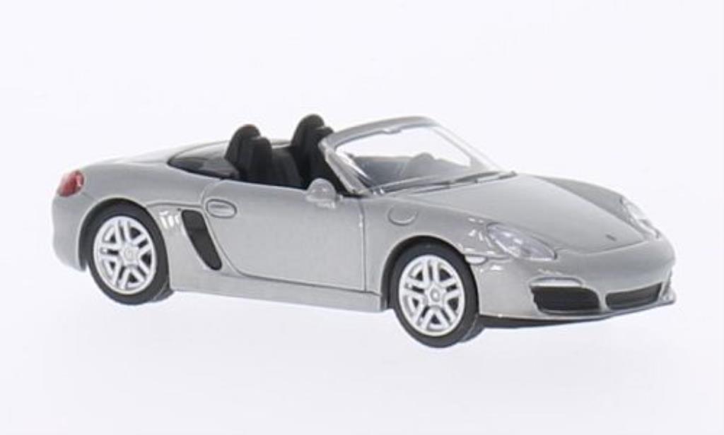 Porsche Boxster 1/64 Schuco S (981) grise-grise miniature