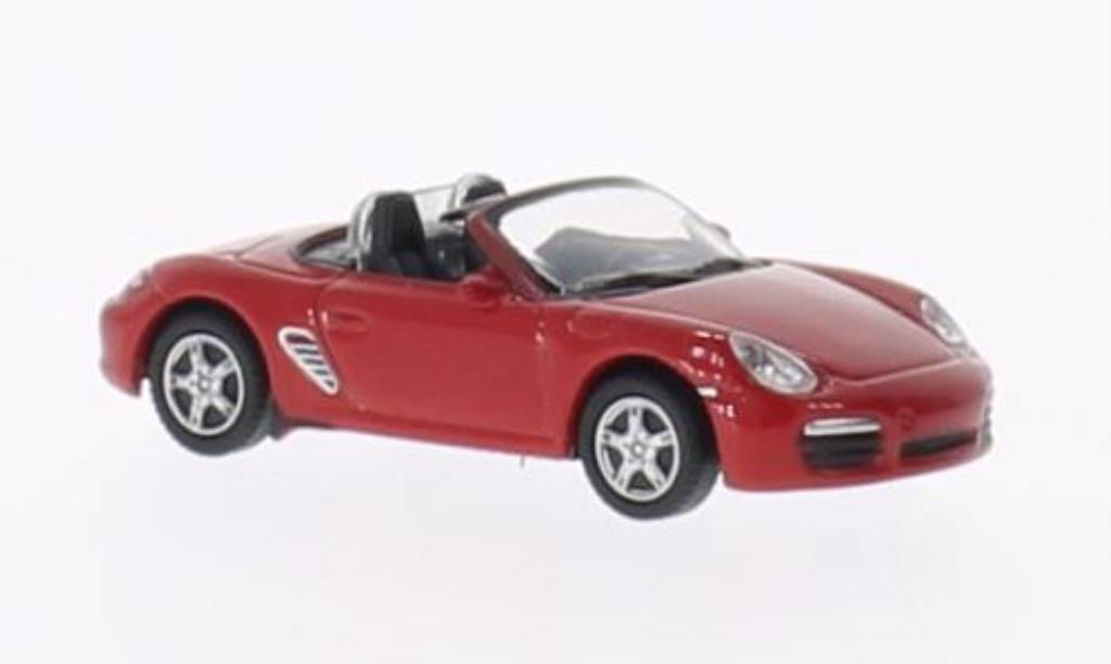 Porsche Boxster 1/87 Welly S rouge miniature
