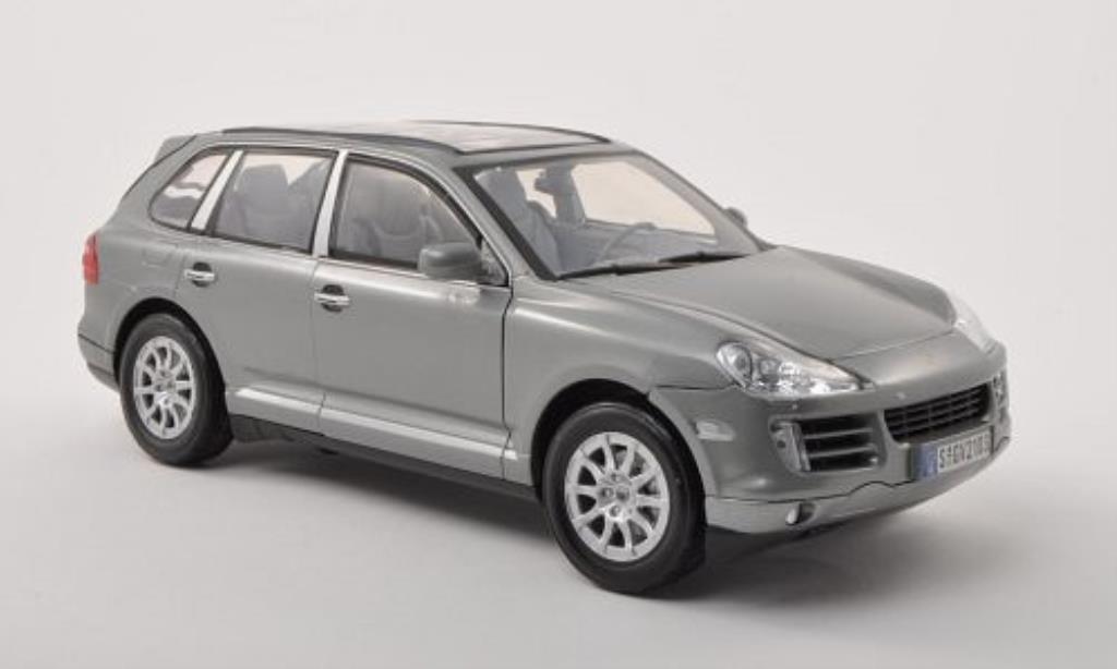 Porsche Cayenne 1/18 Motormax (9PA) grise 2008 miniature