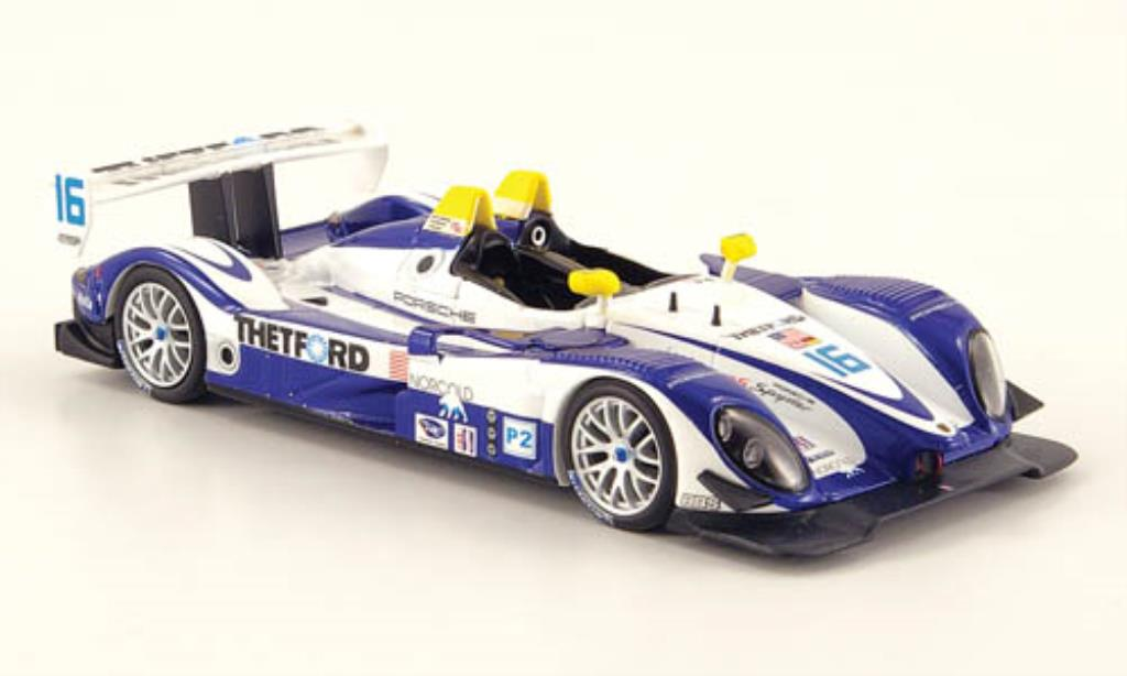 Porsche RS Spyder 1/43 Minichamps No.16 Dyson Racing ALMS Utah GP 2007 /Lally miniature