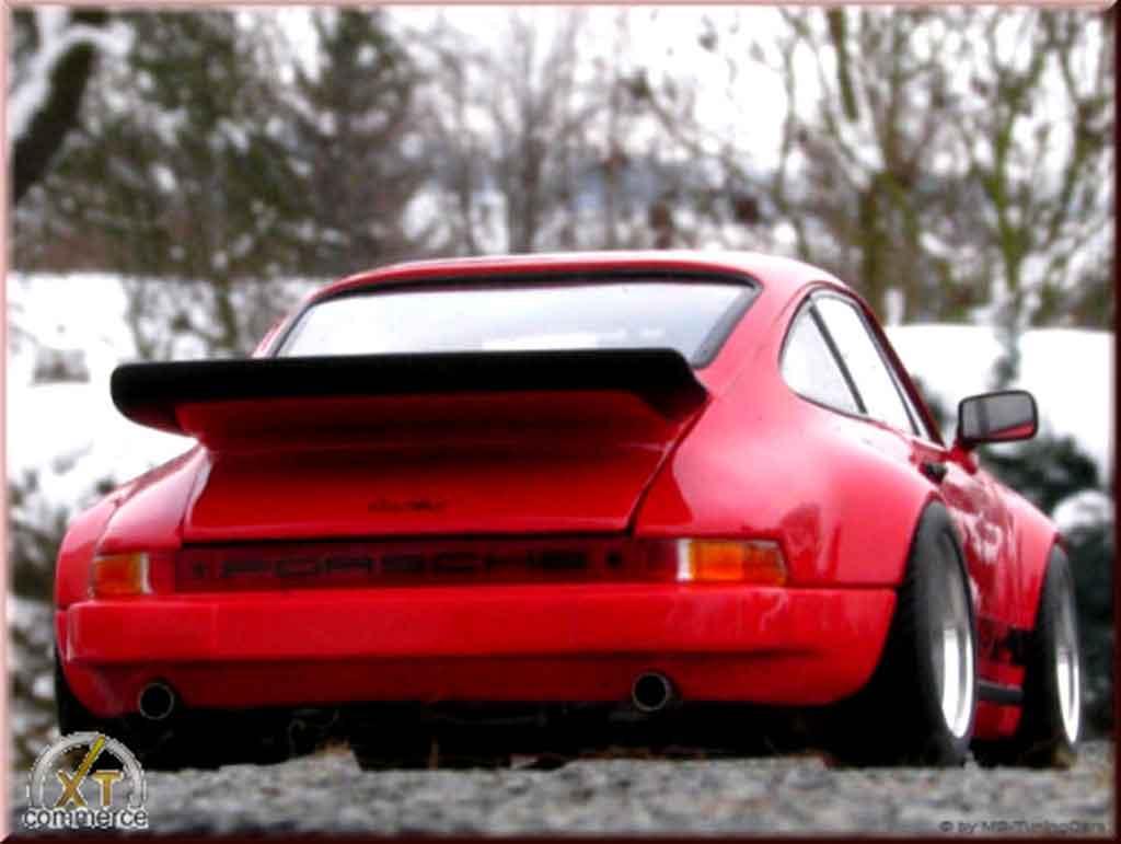 Porsche 930 RS 1/18 Autoart 3.0 carrera rosso jantes fuchs 1974