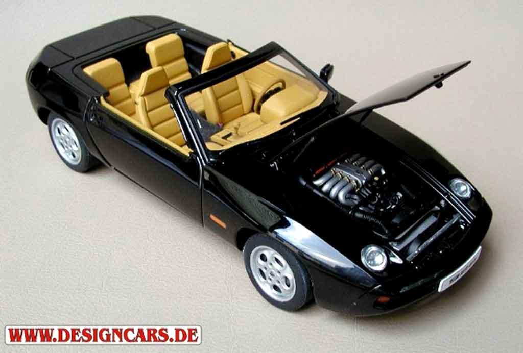 Porsche 928 1/18 Autoart cabriolet black
