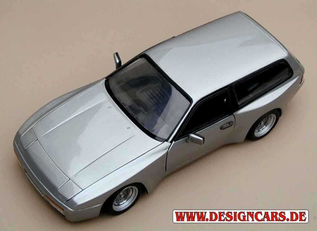 Porsche 944 1985 1/18 Minichamps turbo kombi tuning diecast model cars