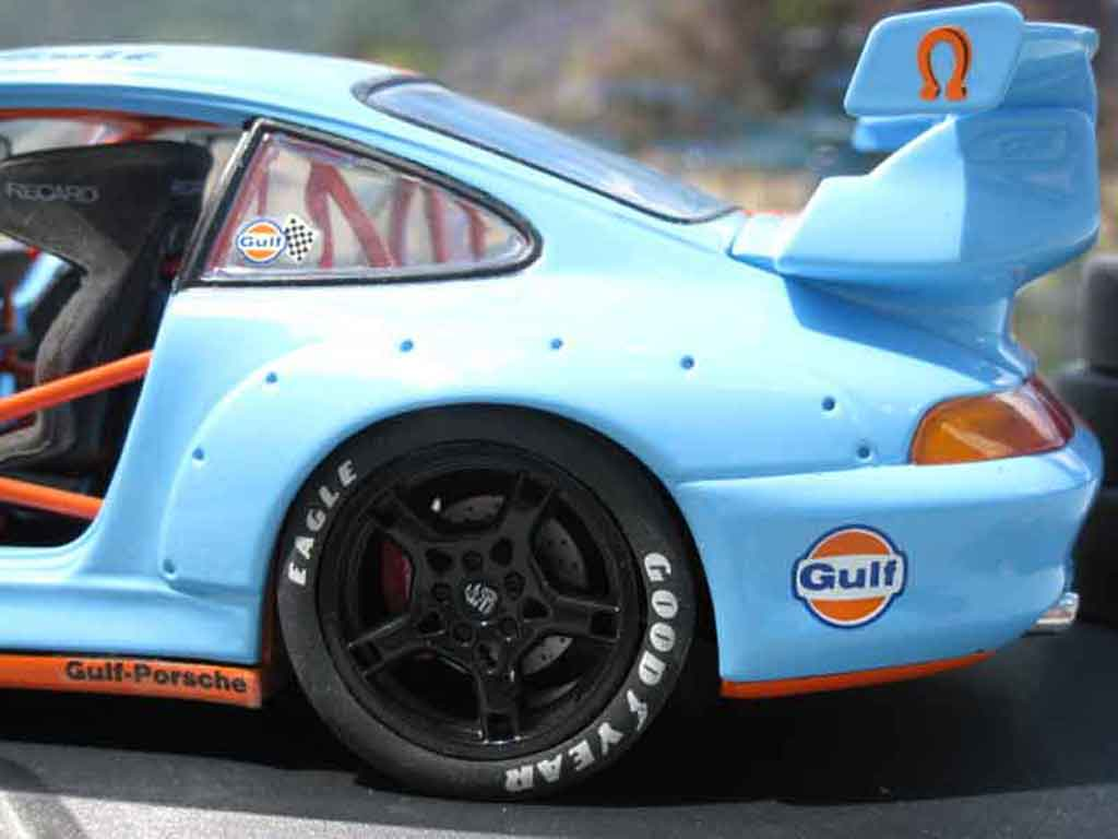 Porsche 993 GT2 1/18 Ut Models evolution gulf