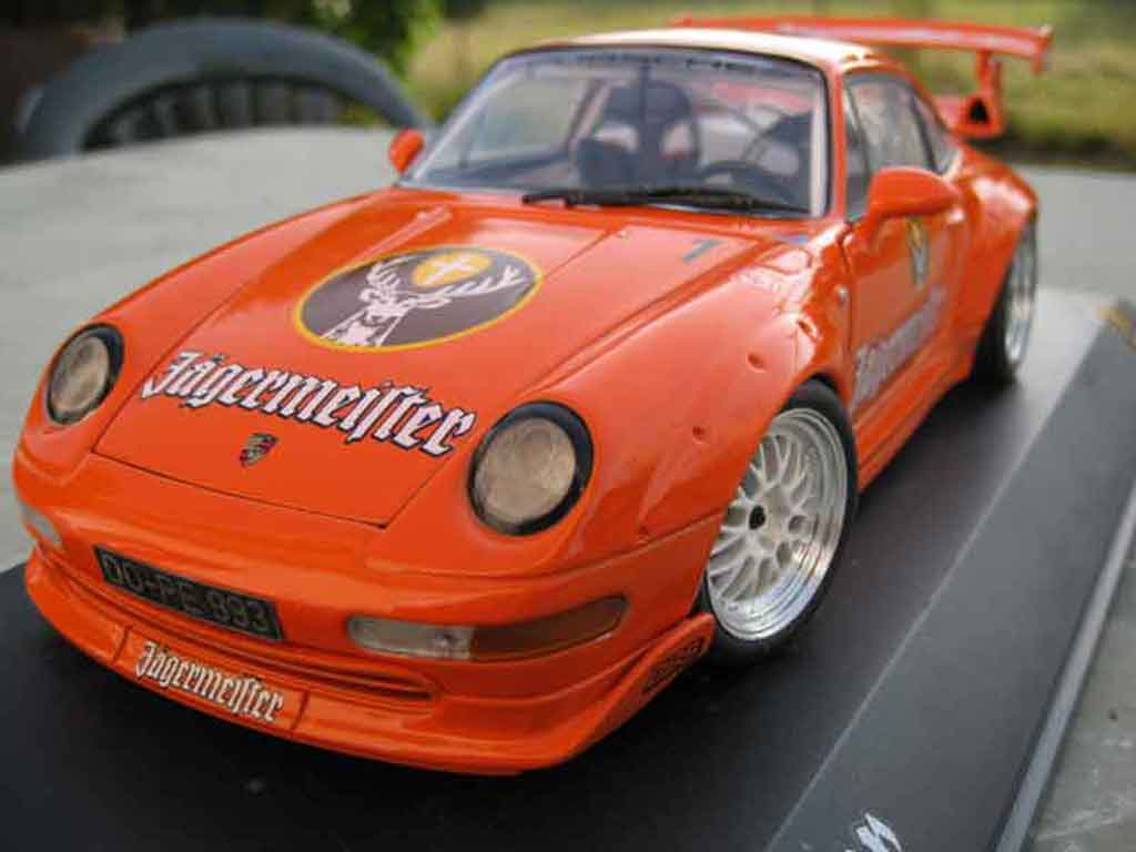 porsche 993 gt2 miniature jagermeister ut models 1 18 voiture. Black Bedroom Furniture Sets. Home Design Ideas