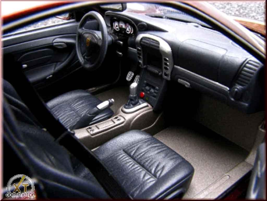 Porsche 996 Turbo 1/18 Autoart peinture cameleon et jantes 20 pouces