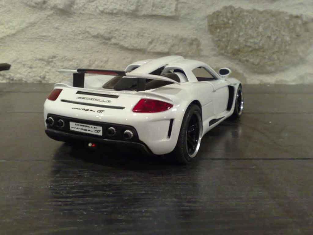 Gemballa Mirage Gt Mirage White Maisto Diecast Model Car 1