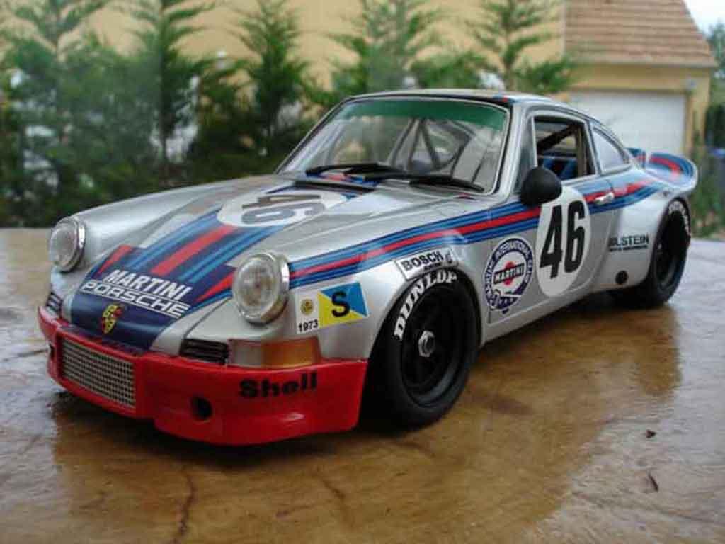 Porsche 911 RSR 1/18 Exoto martini le mans 73 miniature