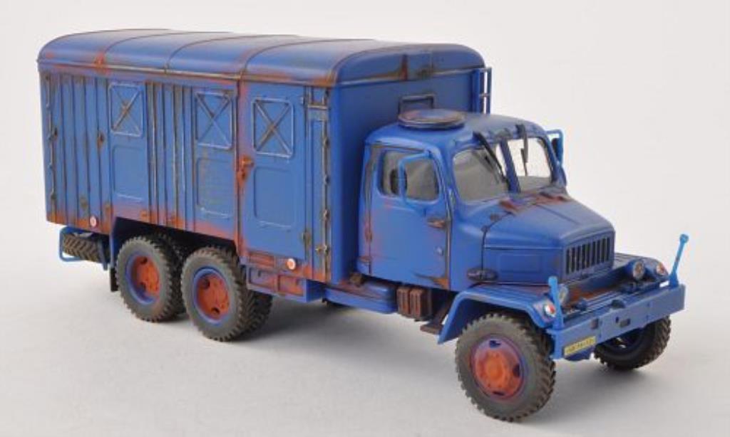 Praga V3S 1/43 Abrex Kasten bleu mit Rostspuren miniature