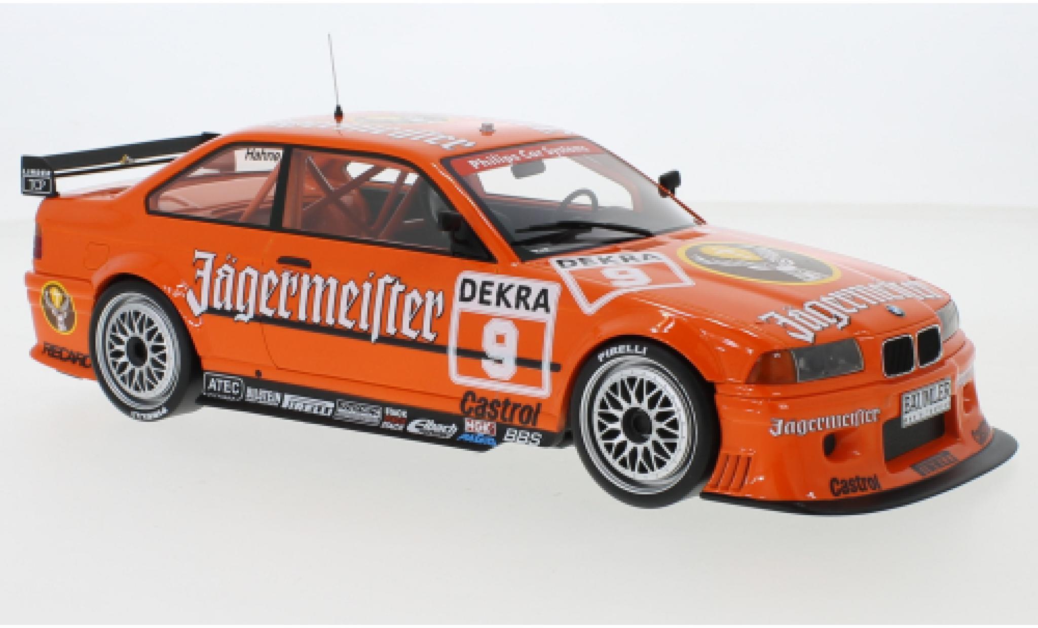 Bmw 325 1/18 Premium ClassiXXs i (E36) No.9 Linder Rennsport Jägermeister DTM Nürburgring 1993 A.Hahne