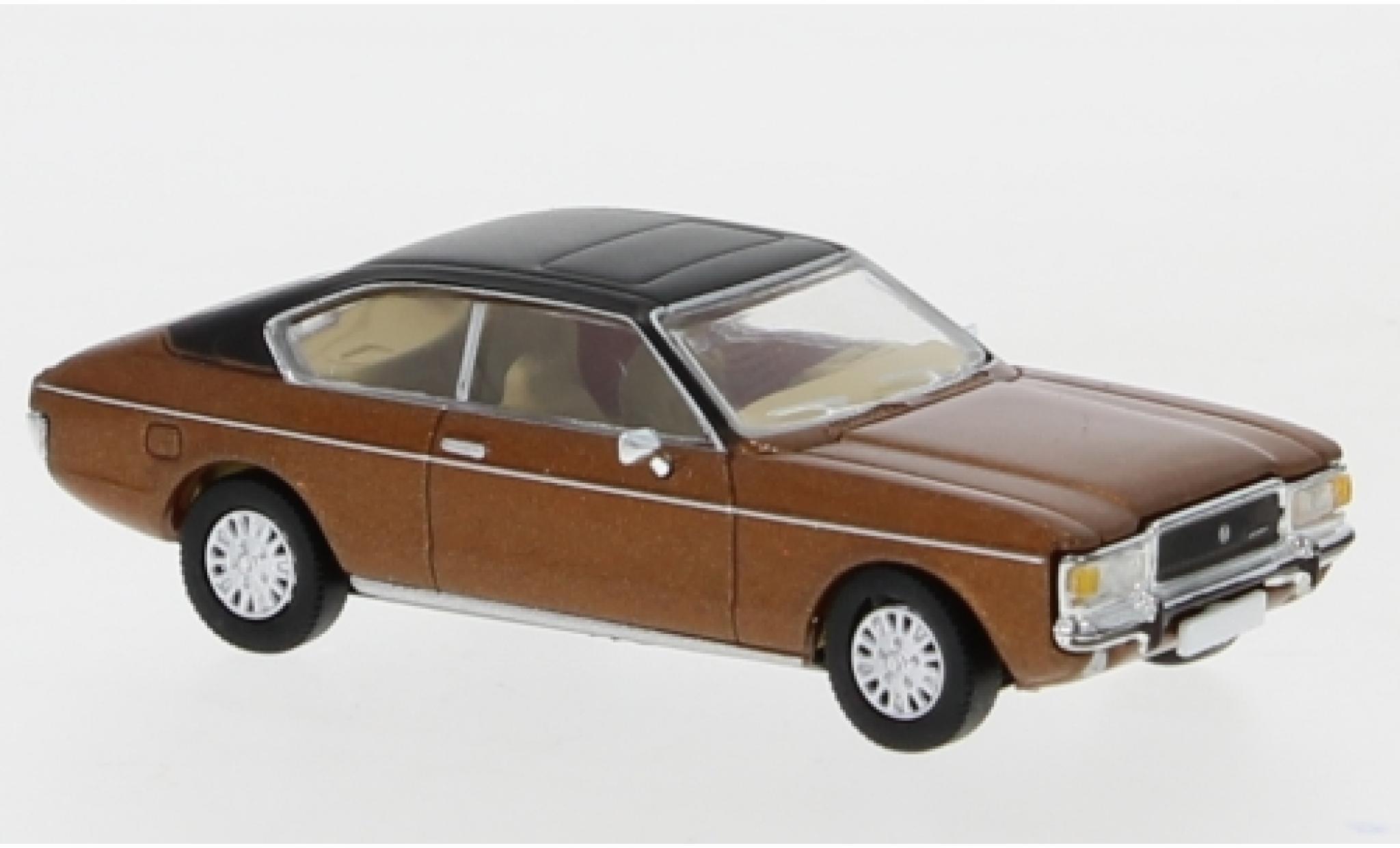 Ford Granada 1/87 Premium ClassiXXs MK I Coupe metallise marron/matt-noire 1974
