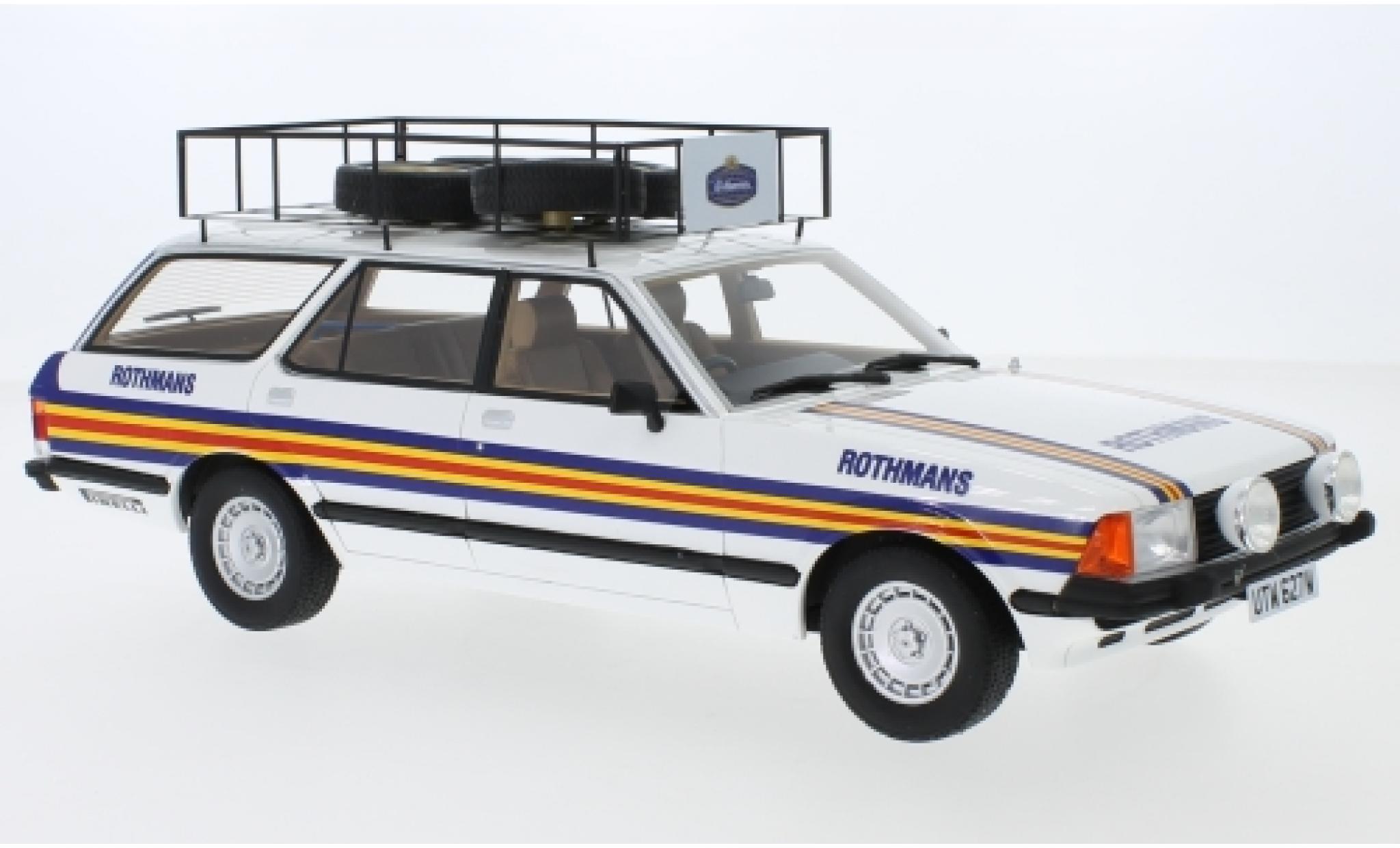 Ford Granada 1/18 Premium ClassiXXs MK II Turnier RHD Rothmans 1981 Rothmans Rally Team