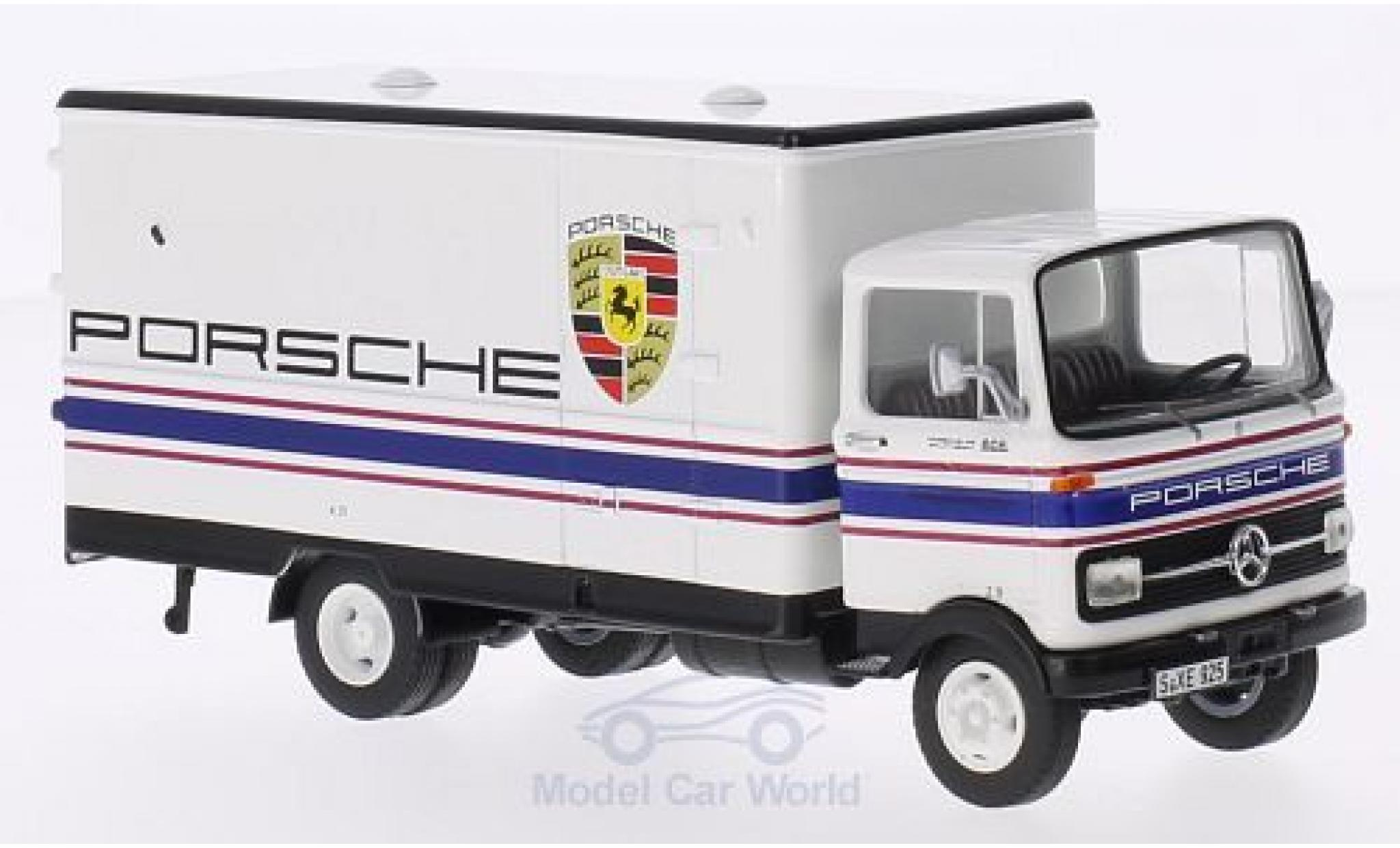 Mercedes LP 608 1/43 Premium ClassiXXs Koffer-LKW Porsche-Motorsport