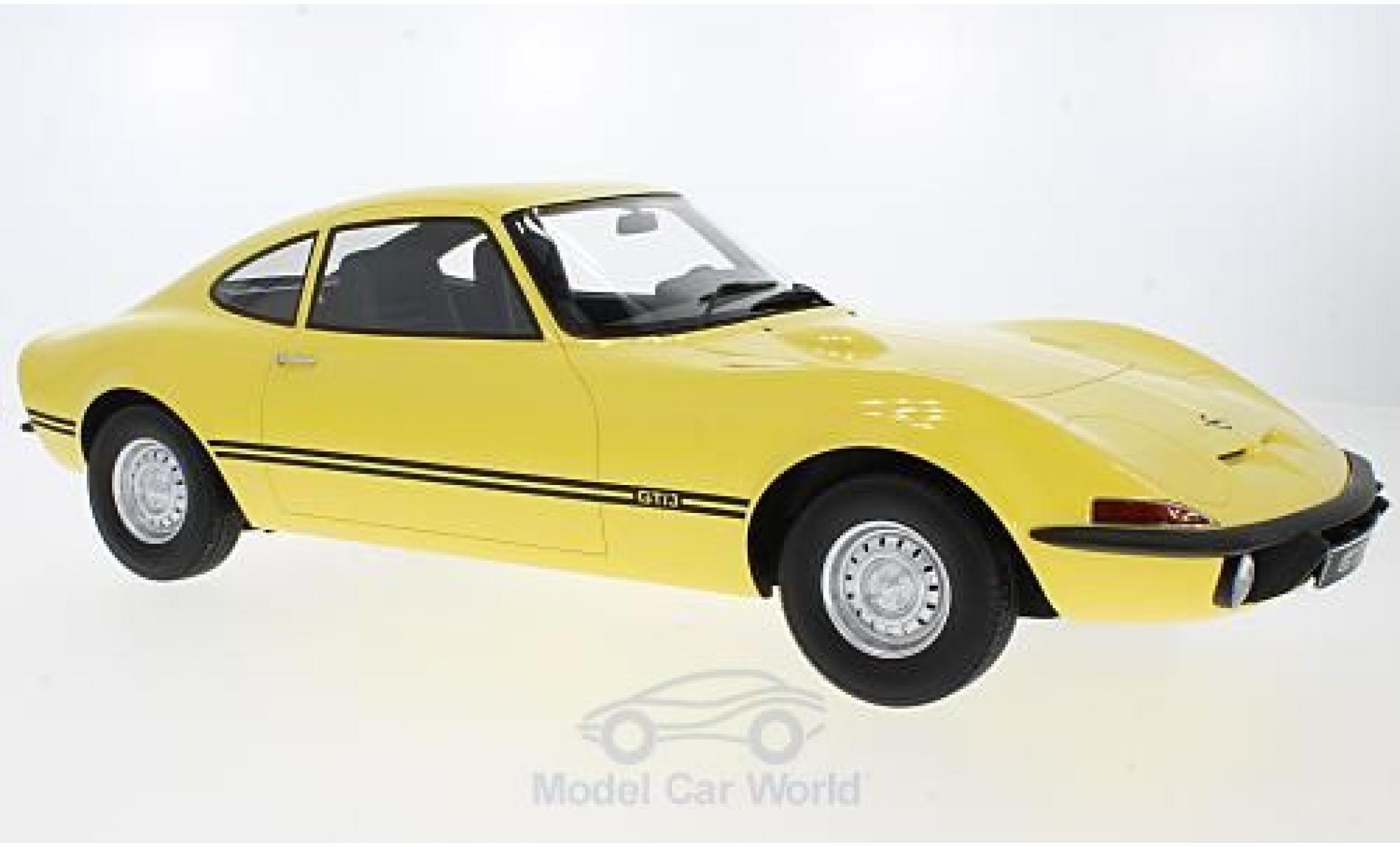 Opel GT 1/18 Premium ClassiXXs /J jaune