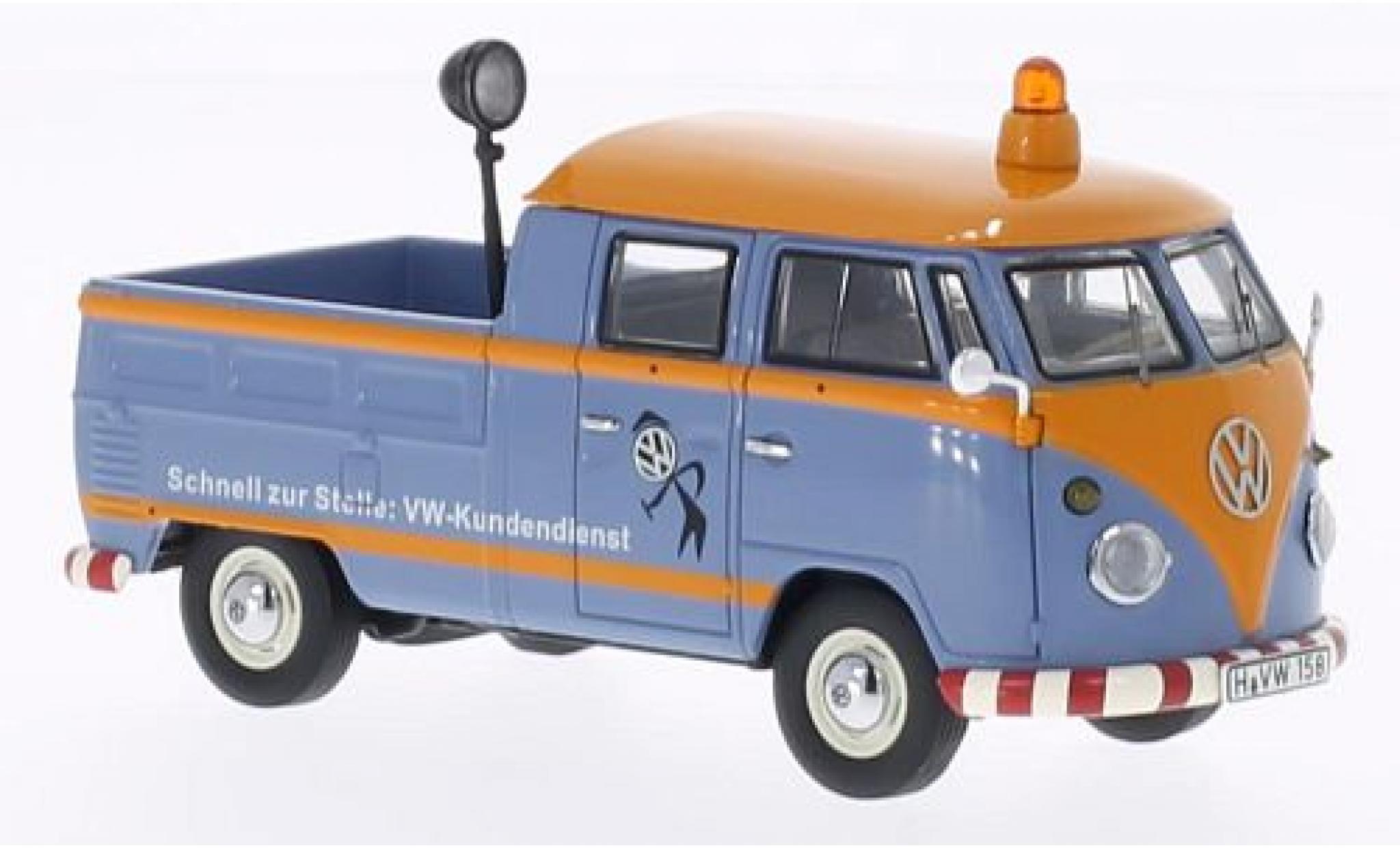 Volkswagen T1 1/43 Premium ClassiXXs cabine double VW-Service clients