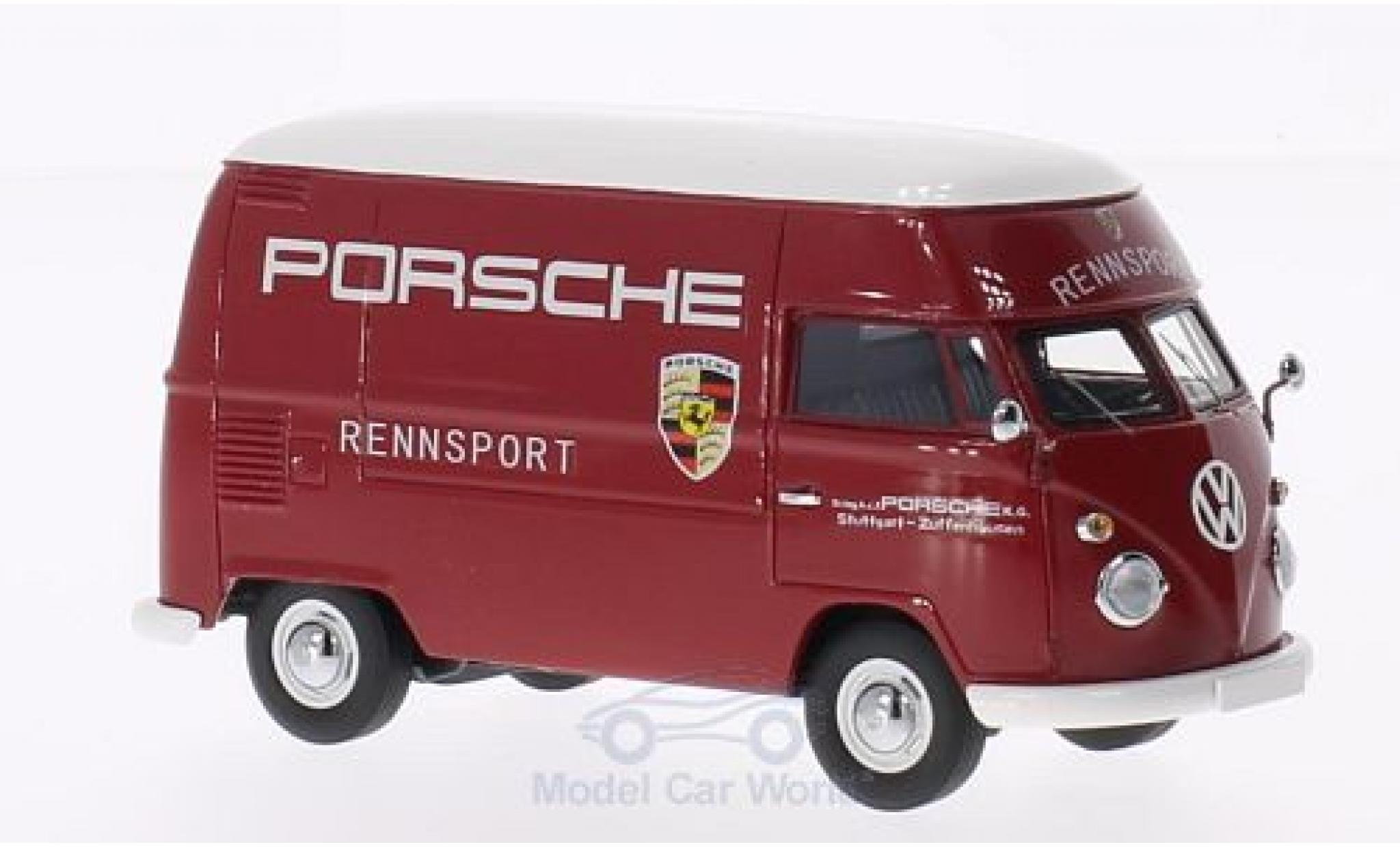Volkswagen T1 1/43 Premium ClassiXXs Hochraumkastenwagen Porsche Rennsport