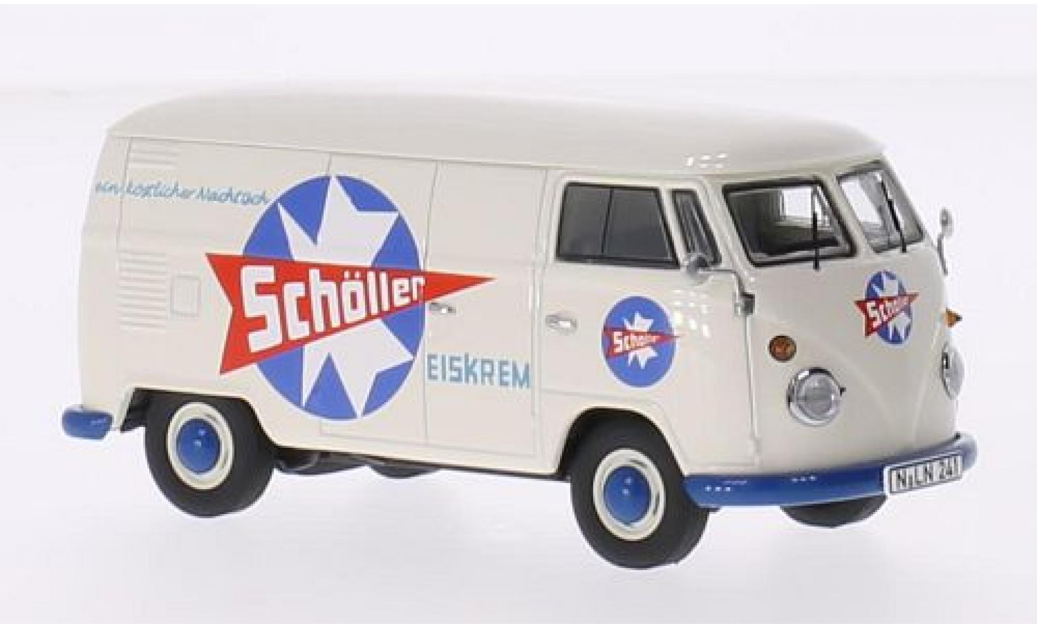 Volkswagen T1 1/43 Premium ClassiXXs Kastenwagen Schöller Eiskrem 1959