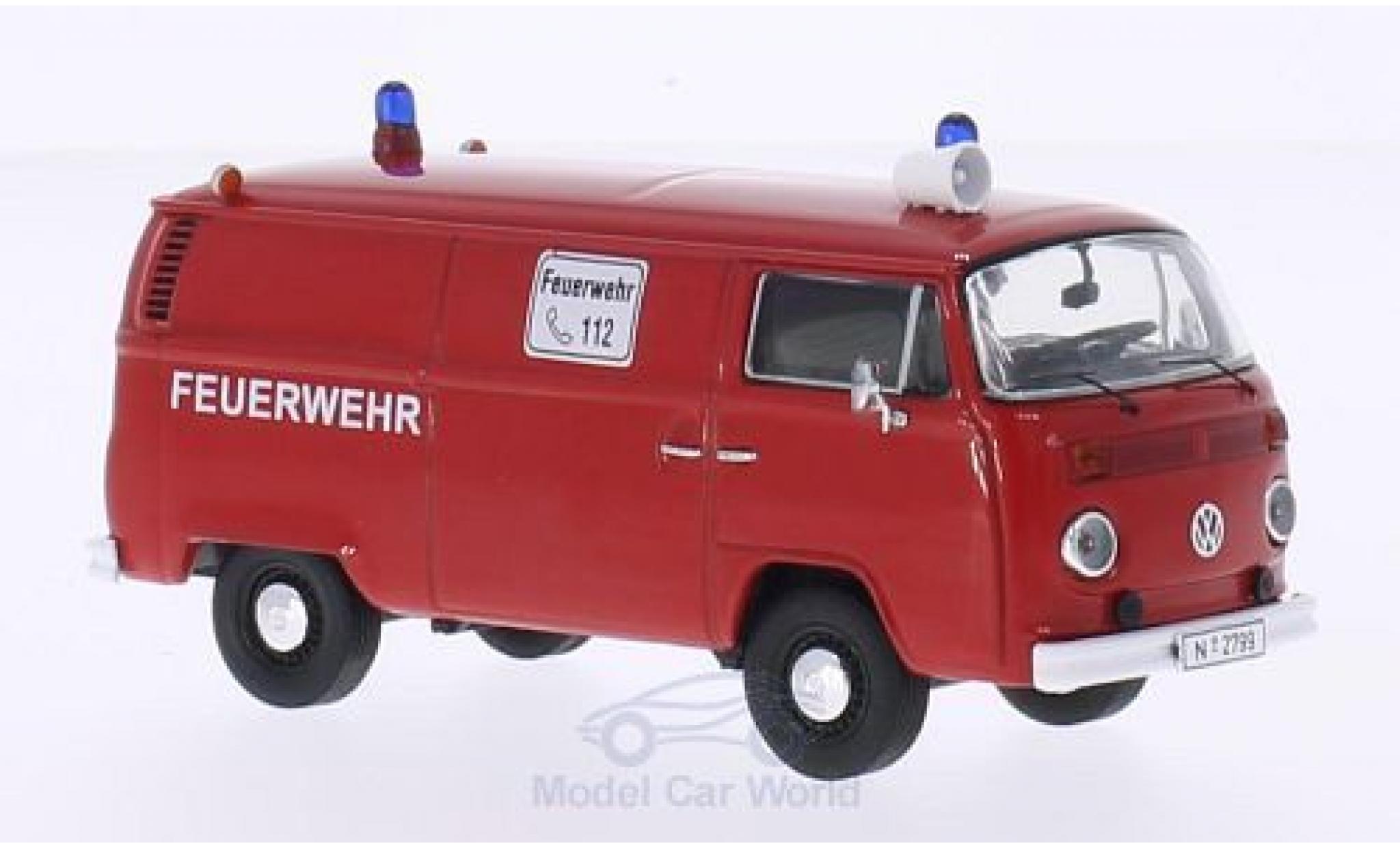 Volkswagen T2 B 1/43 Premium ClassiXXs b Kasten Feuerwehr