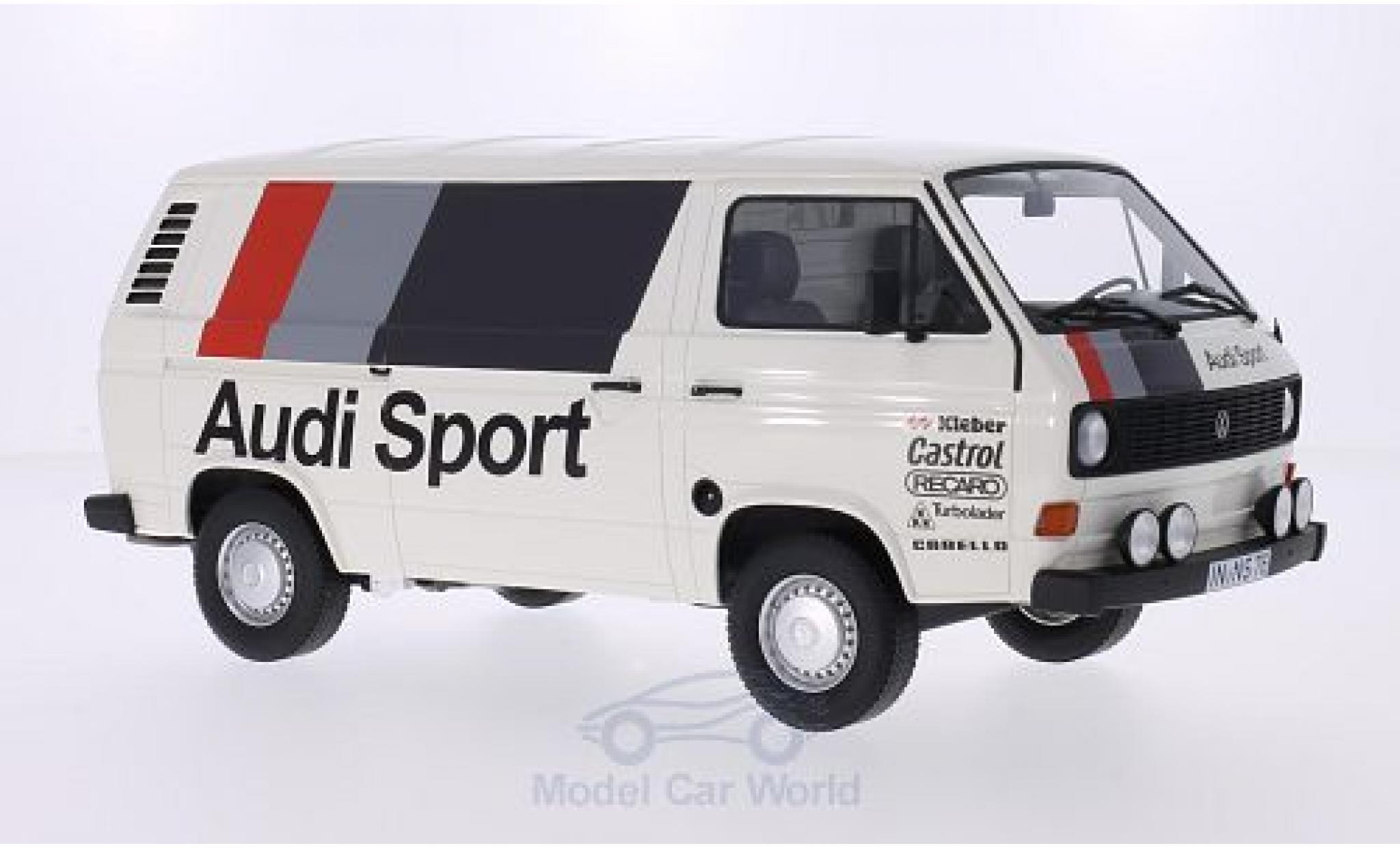 Volkswagen T3 A 1/18 Premium ClassiXXs Kasten Audi Sport 1980