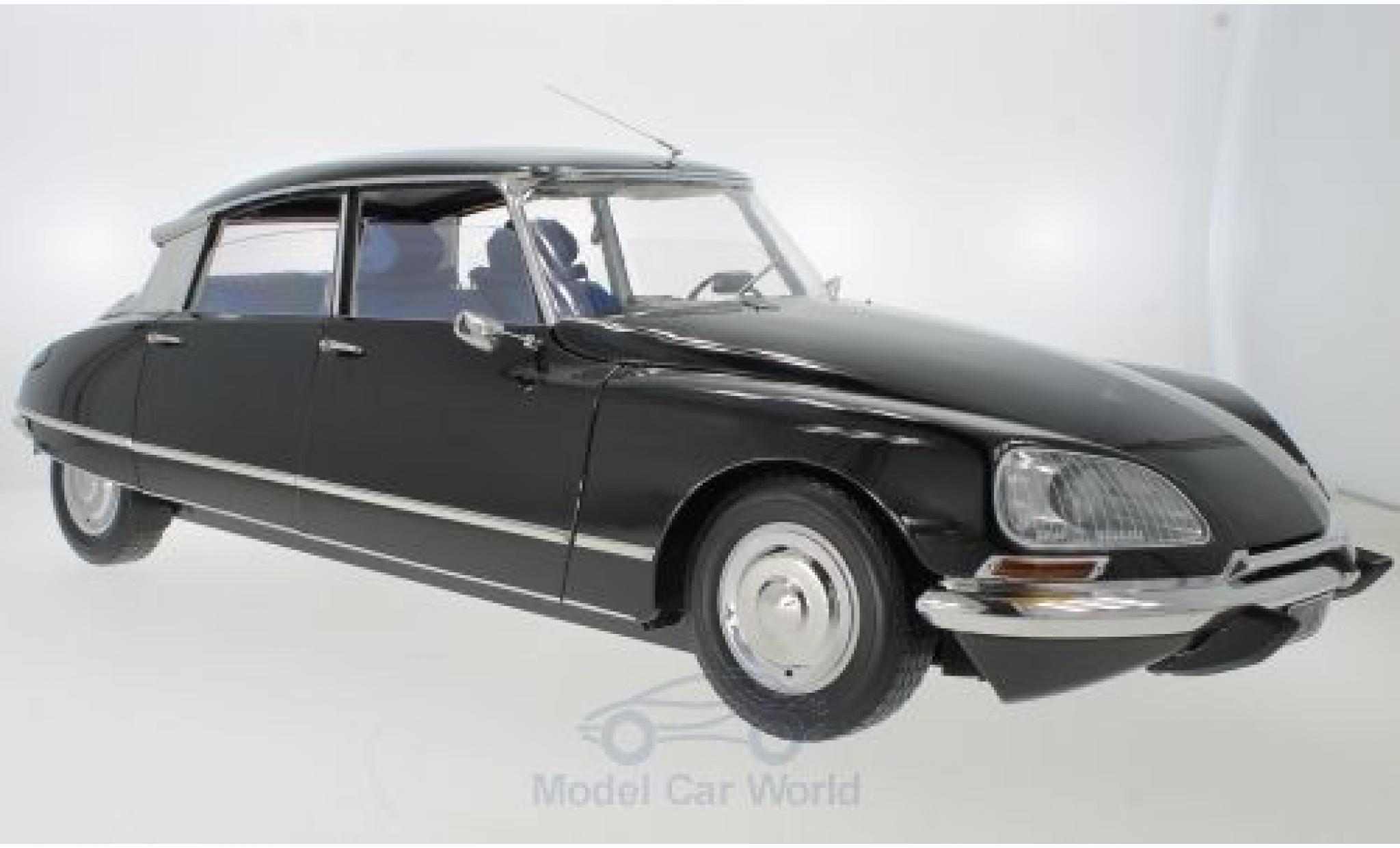 Citroen DS 1/18 Premium X 21 noire 1970